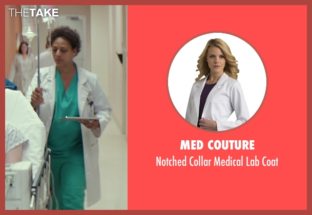 Med Couture white coat from The Best of Me seen with Donna Duplantier (Dr. Charbeaneau)
