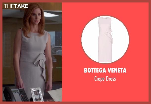 Bottega Veneta beige dress from Suits seen with Donna Roberta Paulsen (Sarah Rafferty)