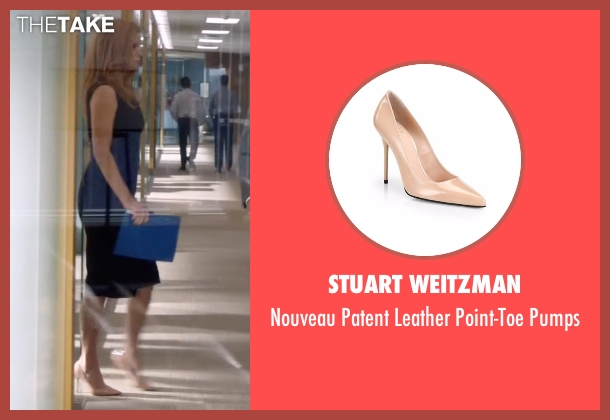 Stuart Weitzman beige pumps from Suits seen with Donna Roberta Paulsen (Sarah Rafferty)