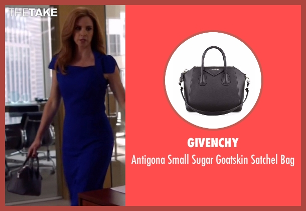 Givenchy black bag from Suits seen with Donna Roberta Paulsen (Sarah Rafferty)
