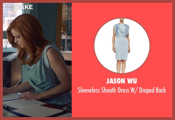 Jason Wu	 blue back from Suits seen with Donna Roberta Paulsen (Sarah Rafferty)
