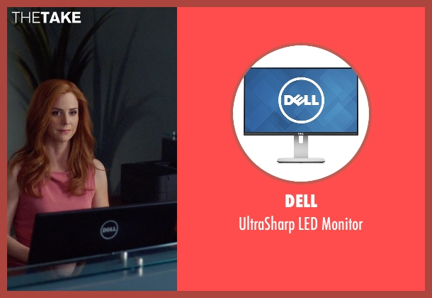 Dell monitor from Suits seen with Donna Roberta Paulsen (Sarah Rafferty)