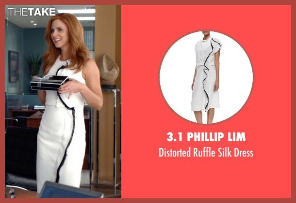 3.1 Phillip Lim white dress from Suits seen with Donna Roberta Paulsen (Sarah Rafferty)