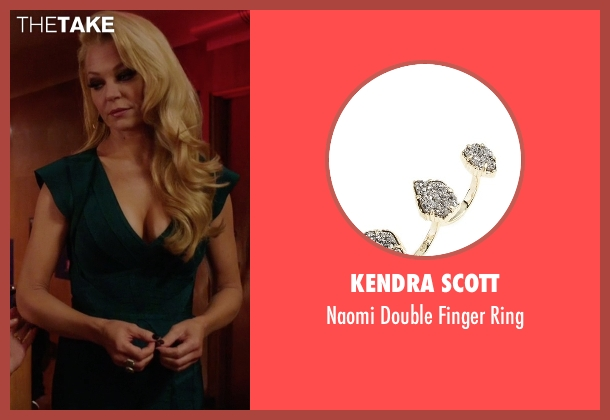 Kendra Scott gold ring from Arrow seen with Donna Smoak (Charlotte Ross)