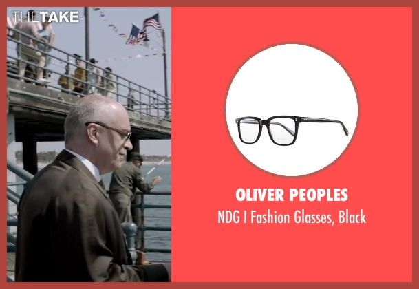 Oliver Peoples black black from Jersey Boys seen with Donnie Kehr (Norm Waxman)
