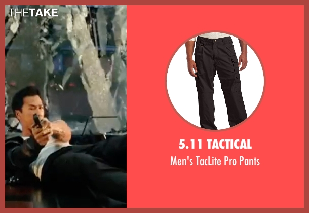 5.11 Tactical  black pants from xXx: Return of Xander Cage seen with Donnie Yen (Xiang)