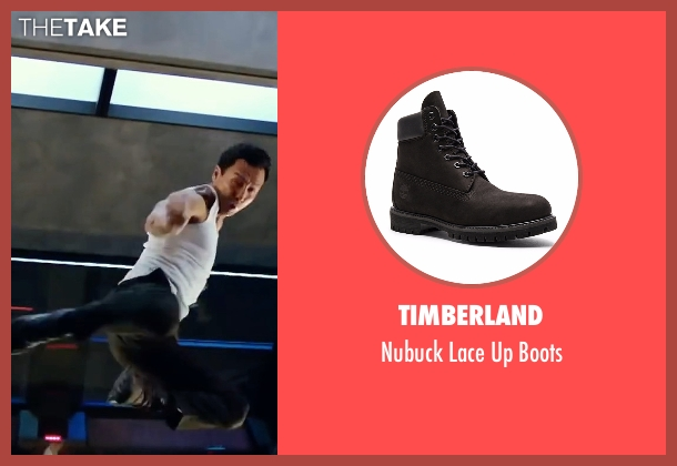 Timberland black boots from xXx: Return of Xander Cage seen with Donnie Yen (Xiang)