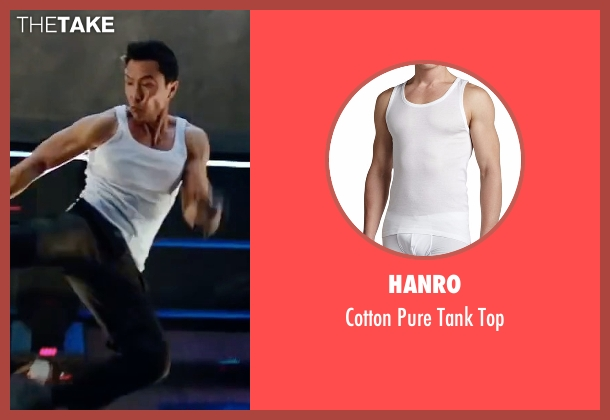 Hanro white top from xXx: Return of Xander Cage seen with Donnie Yen (Xiang)