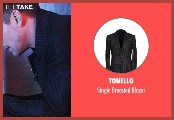 Tonello black blazer from American Horror Story seen with Donovan (Matt Bomer)