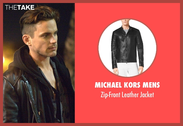 Michael Kors Mens black jacket from American Horror Story seen with Donovan (Matt Bomer)