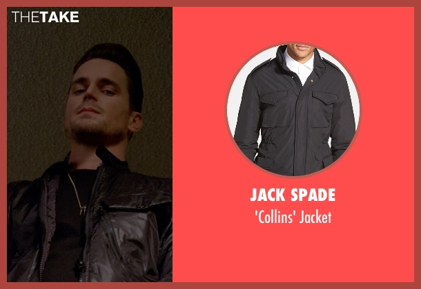 Jack Spade black jacket from American Horror Story seen with Donovan (Matt Bomer)