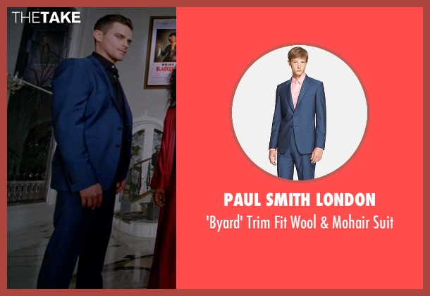 Paul Smith London blue suit from American Horror Story seen with Donovan (Matt Bomer)