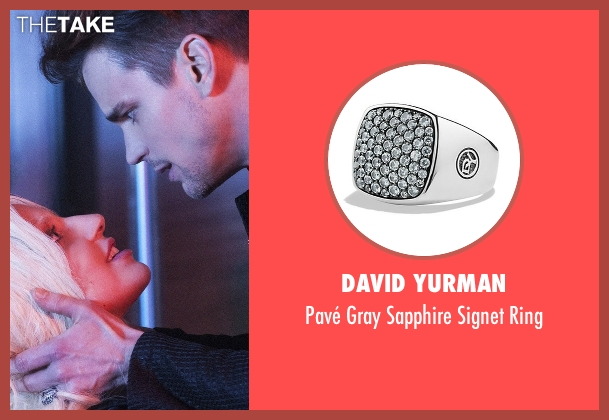 David Yurman silver ring from American Horror Story seen with Donovan (Matt Bomer)