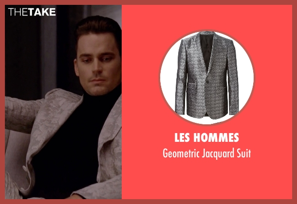 Les Hommes white suit from American Horror Story seen with Donovan (Matt Bomer)