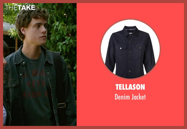 Tellason black jacket from Ouija seen with Douglas Smith (Pete)