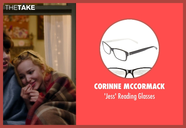 Corinne Mccormack black glasses from Barely Lethal seen with Dove Cameron (Liz Larson)