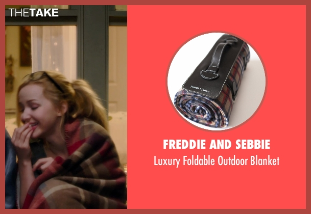 Freddie And Sebbie blanket from Barely Lethal seen with Dove Cameron (Liz Larson)