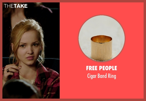 Free People gold ring from Barely Lethal seen with Dove Cameron (Liz Larson)