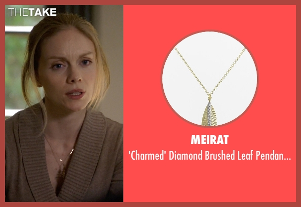 MeiraT gold necklace from Suits seen with Dr. Agrard (Christina Cole)