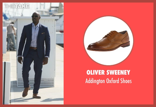 Oliver Sweeney brown shoes from Rosewood seen with Dr. Beaumont Rosewood, Jr. (Morris Chestnut)