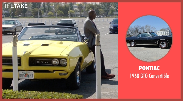 Pontiac convertible from Rosewood seen with Dr. Beaumont Rosewood, Jr. (Morris Chestnut)