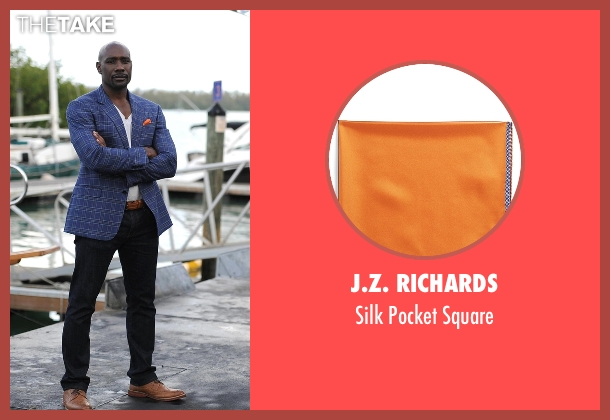 J.Z. Richards orange square from Rosewood seen with Dr. Beaumont Rosewood, Jr. (Morris Chestnut)