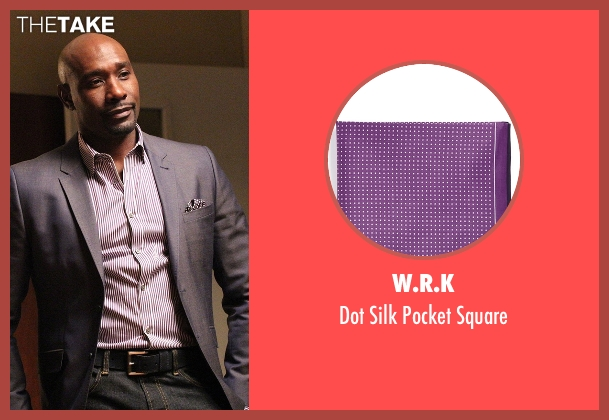 W.R.K purple square from Rosewood seen with Dr. Beaumont Rosewood, Jr. (Morris Chestnut)