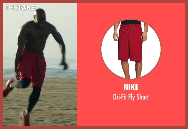 Nike red short from Rosewood seen with Dr. Beaumont Rosewood, Jr. (Morris Chestnut)