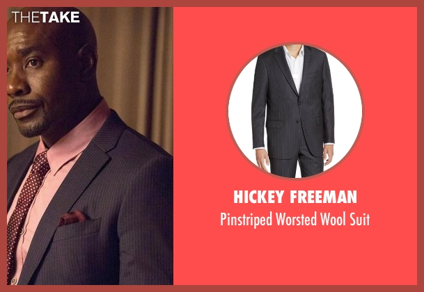 Hickey Freeman suit from Rosewood seen with Dr. Beaumont Rosewood, Jr. (Morris Chestnut)
