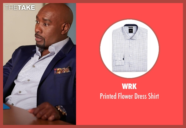 WRK white shirt from Rosewood seen with Dr. Beaumont Rosewood, Jr. (Morris Chestnut)