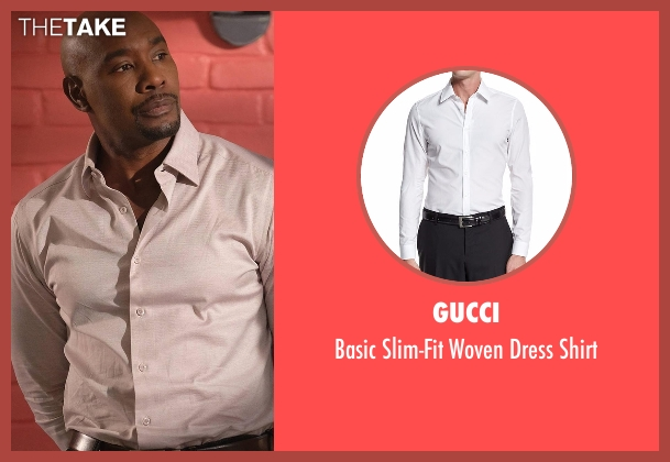 Gucci  white shirt from Rosewood seen with Dr. Beaumont Rosewood, Jr. (Morris Chestnut)