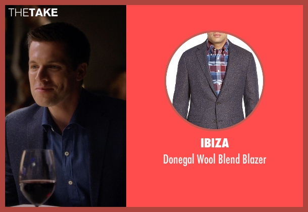 Ibiza blue blazer from Nashville seen with Dr. Caleb Rand (Nick Jandl)