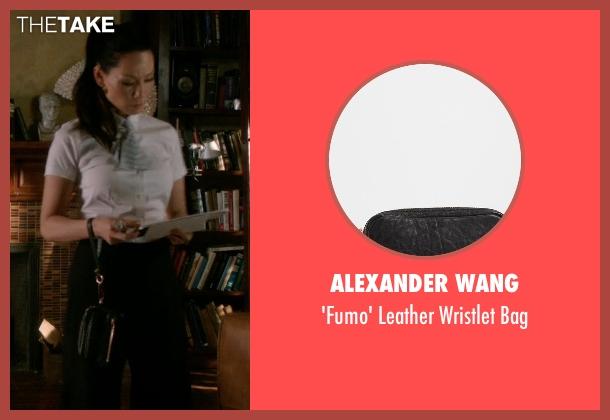 Alexander Wang black bag from Elementary seen with Dr. Joan Watson (Lucy Liu)