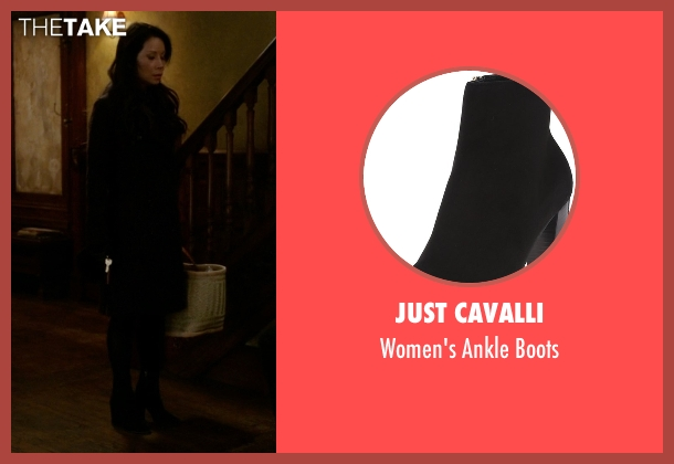 Just Cavalli black boots from Elementary seen with Dr. Joan Watson (Lucy Liu)