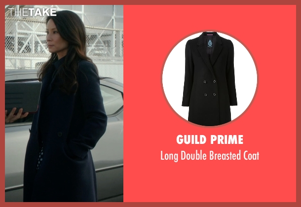 Guild Prime   black coat from Elementary seen with Dr. Joan Watson (Lucy Liu)