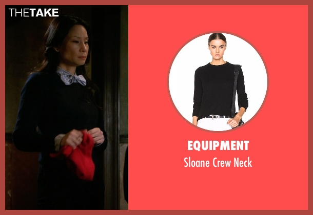 Equipment black neck from Elementary seen with Dr. Joan Watson (Lucy Liu)