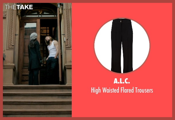 A.L.C. black trousers from Elementary seen with Dr. Joan Watson (Lucy Liu)
