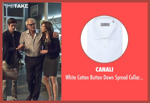 Canali white shirt from The Flash seen with Dr. Martin Stein (Victor Garber)
