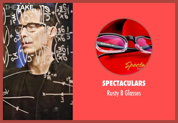 Spectaculars black glasses from The Flash seen with Dr. Wells (Tom Cavanagh)