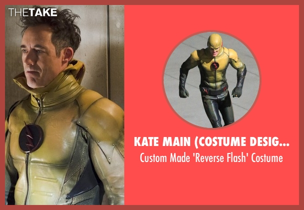 Kate Main (Costume Designer) costume from The Flash seen with Dr. Wells (Tom Cavanagh)