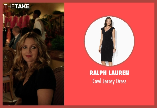 Ralph Lauren black dress from Blended seen with Drew Barrymore (Lauren Reynolds)