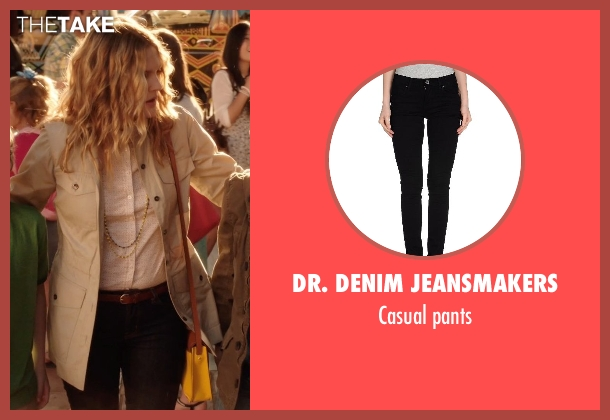 DR. DENIM JEANSMAKERS black pants from Blended seen with Drew Barrymore (Lauren Reynolds)