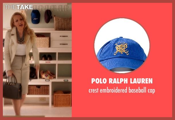 POLO RALPH LAUREN blue cap from Blended seen with Drew Barrymore (Lauren Reynolds)