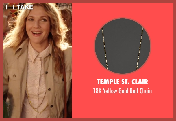 Temple St. Clair chain from Blended seen with Drew Barrymore (Lauren Reynolds)