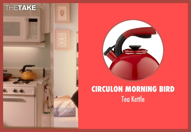 Circulon Morning Bird kettle from Blended seen with Drew Barrymore (Lauren Reynolds)