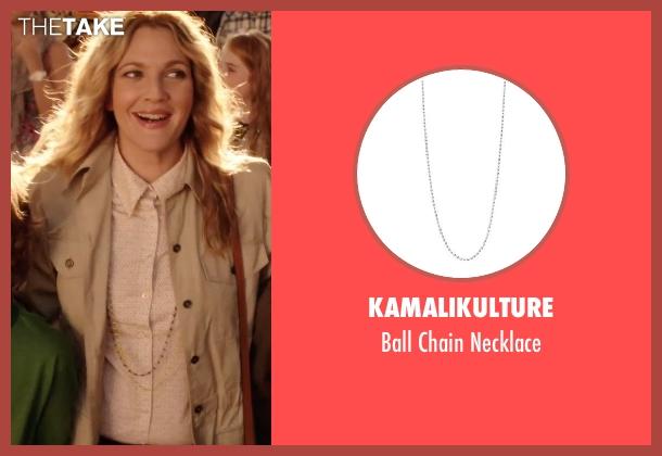 KAMALIKULTURE necklace from Blended seen with Drew Barrymore (Lauren Reynolds)