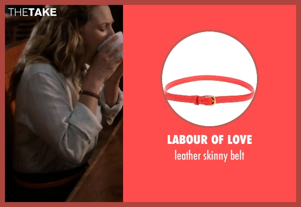 LABOUR OF LOVE red belt from Blended seen with Drew Barrymore (Lauren Reynolds)