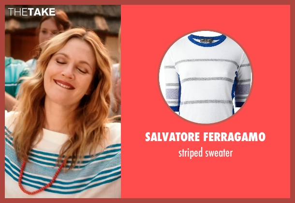 SALVATORE FERRAGAMO sweater from Blended seen with Drew Barrymore (Lauren Reynolds)