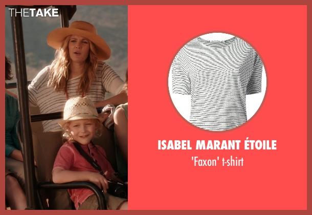 ISABEL MARANT ÉTOILE t-shirt from Blended seen with Drew Barrymore (Lauren Reynolds)