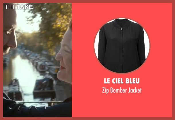 Le Ciel Bleu black jacket from Miss You Already seen with Drew Barrymore (Jess)